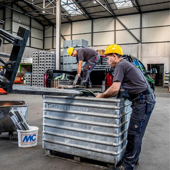 Wir suchen in Eschen: Hilfskraft Recycling 100%