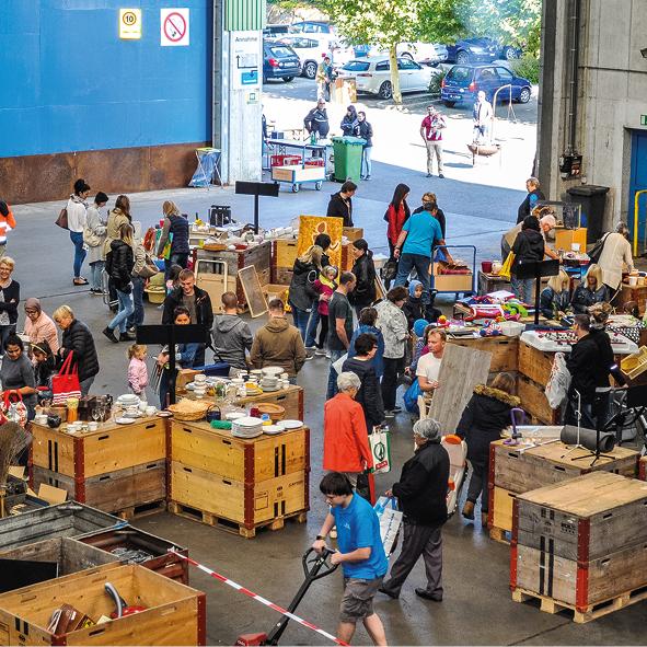 Eschen: Entsorgi Bring- und Holtag & ELREC Betriebsbesichtigungen